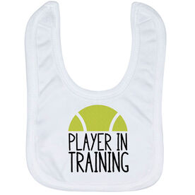 Tennis Baby Bib - Player In Training