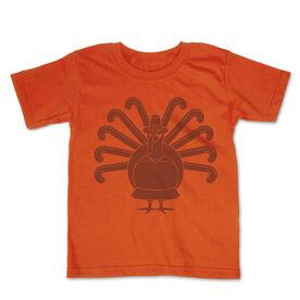 Field Hockey Toddler Short Sleeve Tee - Turkey Player