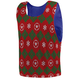 Soccer Pinnie - Ugly Sweater