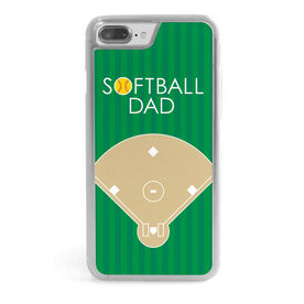 Softball iPhone® Case - Softball Dad Field
