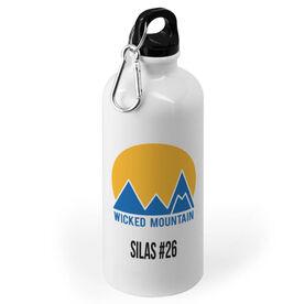 Skiing and Snowboarding 20 oz. Stainless Steel Water Bottle - Custom Logo