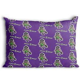 Seams Wild Wrestling Pillowcase - Pinny (Pattern)
