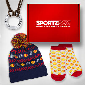 Softball SportzBox Gift Set - For the Home Run