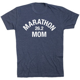 Running Short Sleeve T-Shirt - Marathon 26.2 Mom