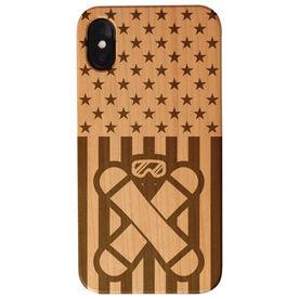 Snowboarding Engraved Wood IPhone® Case - USA Snowboarding
