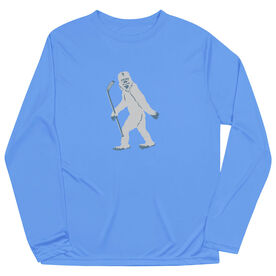 Hockey Long Sleeve Performance Tee - Yeti