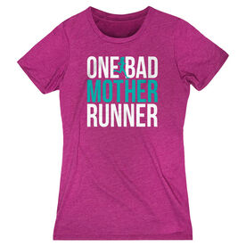 Women's Everyday Runners Tee - One Bad Mother Runner (Bold)