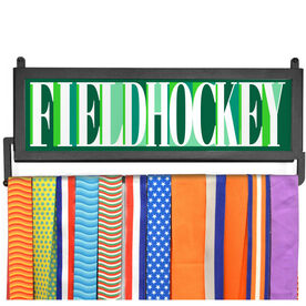 AthletesWALL Medal Display - Field Hockey Mosaic