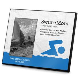 Swimming Photo Frame Definition Swim Mom
