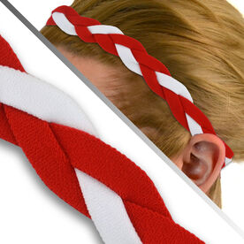 GripBand Headband - Red/White