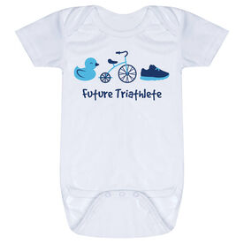 Triathlon Baby One-Piece - Future Triathlete