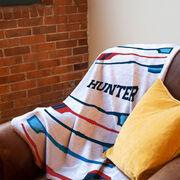 Crew Premium Blanket - Personalized Oars