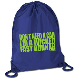 Running Sport Pack Cinch Sack Wicked Fast Runnah