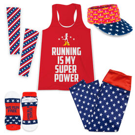 Running is My Super Power Outfit