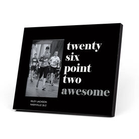 Running Photo Frame - Run Mantra - 26.2 Awesome