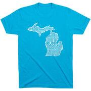 Running Short Sleeve T-Shirt - Michigan State Runner