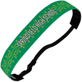 Rugby Julibands No-Slip Headbands - Personalized Rugby Stripe Pattern