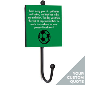 Soccer Medal Hook - Your Quote