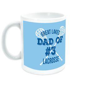 Lacrosse Coffee Mug Team Dad