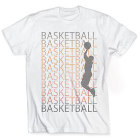Vintage Basketball T-Shirt - Fade