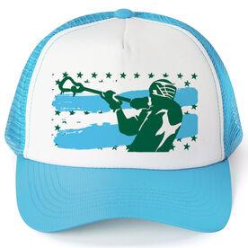 Guys Lacrosse Trucker Hat Big Time Rip