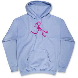 Field Hockey Standard Sweatshirt Neon Field Hockey Girl