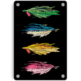 Fly Fishing Metal Wall Art Panel - All Stocked Up
