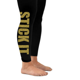 Gymnastics Leggings Stick It