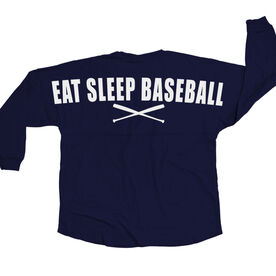 Baseball Statement Jersey Shirt Eat Sleep Baseball