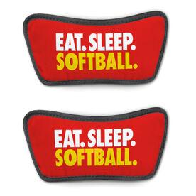 Softball Repwell® Sandal Straps - Eat. Sleep. Softball.