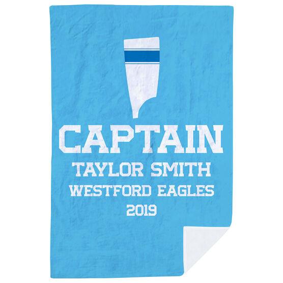 Crew Premium Blanket - Personalized Captain