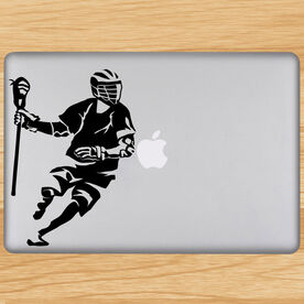 Removable Laptop Decal Dodger Silhouette