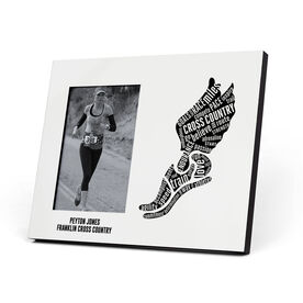 Cross Country Photo Frame - Inspirational Words Winged Foot