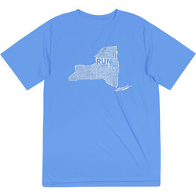 Men's Running Short Sleeve Tech Tee - New York State Runner