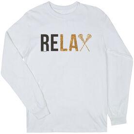 Girls Lacrosse Long Sleeve T-Shirt - Relax