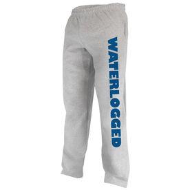 Swimming Fleece Sweatpants Waterlogged