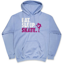 Figure Skating Hooded Sweatshirt - Eat. Sleep. Skate.