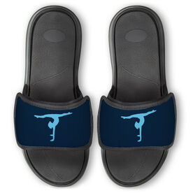 Gymnastics Repwell™ Slide Sandals - Gymnastics Silhouette