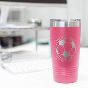 Soccer 20 oz. Double Insulated Tumbler - Ball Icon