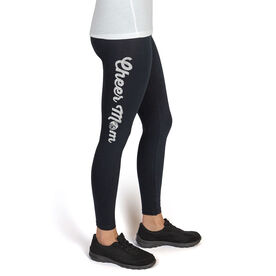 Cheerleading High Print Leggings Cheer Mom