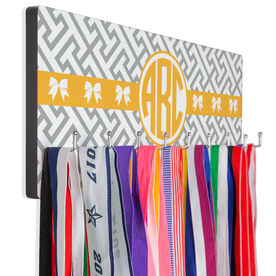 Cheer Hook Board Cheer Monogram with Pattern