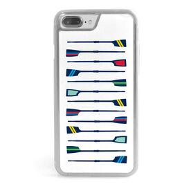 Crew iPhone® Case - Oar Pattern
