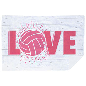 Volleyball Premium Blanket - Love