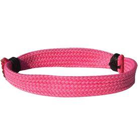 Hockey Lace Bracelet Solid Pink Adjustable Wrister Bracelet