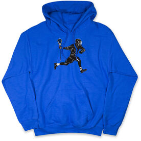 Guys Lacrosse Hooded Sweatshirt - Lax Player