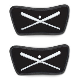 Baseball Repwell™ Sandal Straps - Crossed Bats with Ball