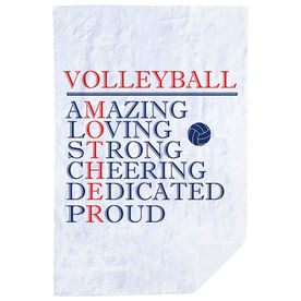Volleyball Premium Blanket - Mother Words