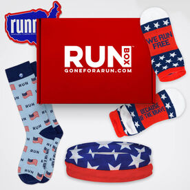 RUNBOX™ Gift Set - Patriotic Runner