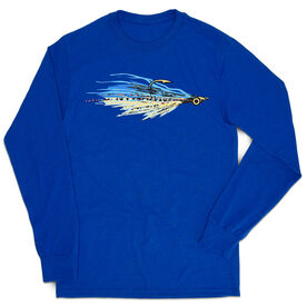 Fly Fishing Tshirt Long Sleeve - Clouser Fly