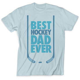 Vintage Hockey T-Shirt - Best Dad Ever